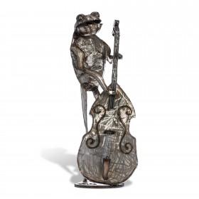 Frog Double Bassist